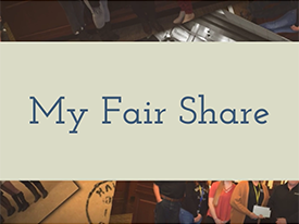 Thumbnail - Check out our most recent My Fair Share video!