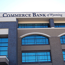 2009 - New Commerce Bank of Wyoming